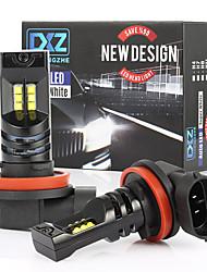 cheap -2PCS High-power Car LED Lamp H8 H11 XBD 12 LED Fog Lamp Bulb