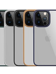 cheap -Phone Case For Apple Back Cover iPhone 13 Pro Max iPhone 13 iPhone 13 Pro iPhone 12 iPhone 12 Pro Max iPhone 12 Pro iPhone 12 Mini Shockproof Dustproof Transparent PC