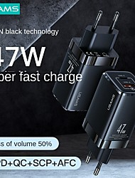 cheap -20/27/45 W Output Power USB USB C Portable Charger Multi-Output Fast Charge For Cellphone 1 PC