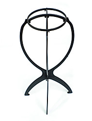 cheap -Wig Accessories / Extension Tools Plastics / Plastic Wig Stands 1 pcs Daily Classic Black (Height 14.2inches Maximum diameter 6.9inches)