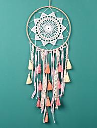 cheap -Boho Dream Catcher Handmade Gift Wall Hanging Decor Art Ornament Crafts star Circle For Kids Bedroom Wedding Festival 20*50cm