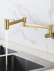 cheap -Kitchen faucet - Two Handles One Hole Pot Filler Contemporary Kitchen Taps