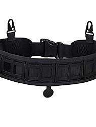 cheap -tactical padded patrol molle battle belt adjustable hunting waist patrol belts 1000d high density nylon