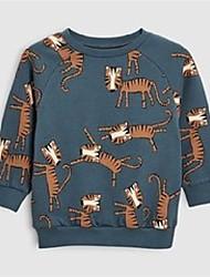 cheap -little maven 2019 autumn boys brand clothes children hoodies & sweatshirts boy cotton animal print kids sweatshirts fleece c0173 lj201216