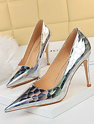 cheap -1932-5 european and american sexy nightclubs were thin female high-heeled shoes stiletto high-heeled shallow pointed metal stone pattern single shoes