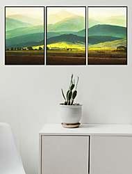 cheap -3 Panels Wall Art Canvas Prints Painting Artwork Picture Landscape Home Decoration Decor Rolled Canvas No Frame Unframed Unstretched
