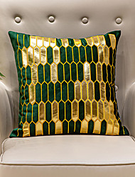 cheap -PillowCase Geometry Light Luxury Embroidery Flannel Velvet PillowCase Cushion Cover Living Room Bedroom Sofa Cushion Cover Modern Sample Room Cushion Cover