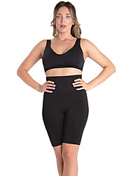 cheap -High-Waisted Seamless Tummy Targeting Firming Compression Thigh Shaper for Women