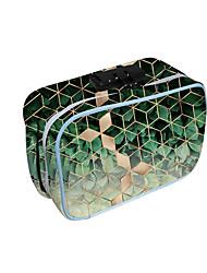 cheap -Unisex Bags Oxford Cloth Tobacco Pouch Zipper Geometric Daily 3D Print Green