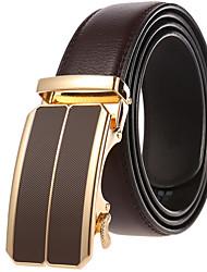 cheap -Men's Waist Belt Party Daily Black White Belt Pure Color
