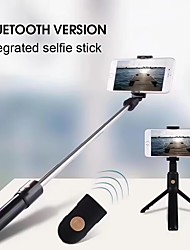 cheap -Selfie Stick Bluetooth Extendable Max Length 85 cm For Universal Android / iOS