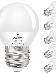 cheap -6pcs 6 W LED Globe Bulbs 550 lm E27 G45 20 LED Beads SMD 2835 Decorative Warm White Cold White 110-130 V