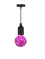 cheap -10 cm Single Design Pendant Light Metal Glass Industrial Electroplated Vintage Country 110-240 V