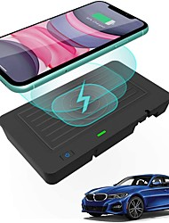 cheap -Car Qi Wireless Wireless Charger for BMW 3 4 Series G20 2019 2020 2021 BMW 4 Series G22 2021 Wireless Phone Charging Pad Mat Accessories for BMW 330i/330i xDrive/M340i/330e