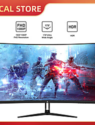 cheap -Z-Edge UG32P 32-inch Curved Gaming Monitor 16:9 1920x1080 240Hz 1ms Frameless LED Gaming Monitor, AMD Freesync Premium Display Port HDMI Build-in Speakers