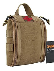 cheap -tactical molle emergency medical pack nylon outdoor survival hiking emergency kit(coyote brown)