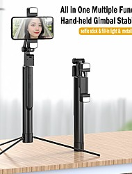 cheap -Selfie Stick Bluetooth Extendable Max Length 167 cm For Universal Android / iOS