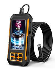 cheap -WAZA 1480.04 1480.05 1480.06 10.0m(30Ft) Industrial Endoscope Camera Digital Borescope 2 mp Portable LED Light IP67 Waterproof Dual Camera Semi-Rigid Cable Pipeline 30-80 mm 5M
