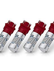 cheap -OTOLAMPARA 4pcs Extremely Bright 3157 3156 Stop Light 3156A 3057 4057 4157 3057LL 3457 3157K 21W LED Bulb Replacement Brilliant Red Color for Car Brake Tail Turn Signal Blinker Lights Bulbs