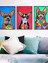 cheap -Wall Art Canvas Prints Painting Artwork Picture Animal Home Decoration Decor Rolled Canvas No Frame Unframed Unstretched