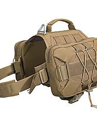 cheap -Dog Pack Hound Dog Saddle Bag Backpack for Travel Camping Hiking Medium & Large Dog with 2 Capacious Side Pockets