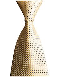 cheap -Men's Work / Wedding / Gentleman Necktie - Plaid / Solid Colored Formal Style / Classic / Fashion