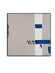 cheap -Oil Painting Handmade Hand Painted Wall Art Modern Simple Color Block Landscape Abstract Home Decoration Decor Stretched Frame Ready to Hang