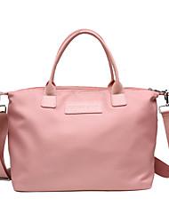 cheap -Women's Bags Nylon Crossbody Bag Zipper Solid Color Shopping Daily Handbags Blue Purple Blushing Pink Black