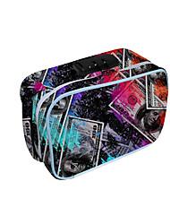 cheap -Unisex Bags Oxford Cloth Tobacco Pouch Zipper Geometric Daily 3D Print Rainbow
