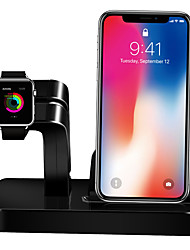 cheap -Apple Watch Stand with Adapter ABS Desk