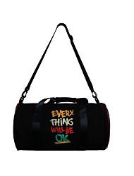 cheap -Unisex Bags Polyester Duffle Bag Zipper Daily Outdoor 3D Print Blue Black