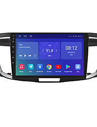 cheap -For Honda Accord 2012-2017 Android 10.0 Autoradio Car Navigation Stereo Multimedia Car Player GPS Radio 10 inch IPS Touch Screen 1 2 3G Ram 16 32G ROM Support iOS Carplay WIFI Bluetooth 4G