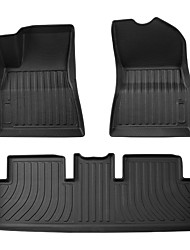 cheap -3D MAXpider All-Weather Floor Mats For Tesla Model 3 5-Seat  Custom Fit Car Mats Floor Liners TPE (Does NOT fit 7-Seat)
