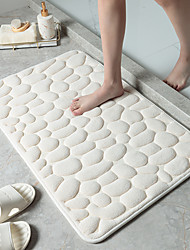 cheap -Cobblestone Embossed Bathroom Bath Mat Non-Slip Carpets In Wash Basin Bathtub Side Floor Rug Shower Room Doormat Memory Foam Pad
