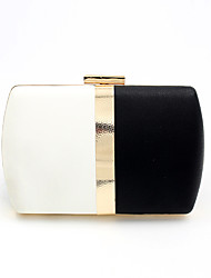 cheap -Women's Bags Polyester Alloy Evening Bag Chain Party / Evening Date Evening Bag Black