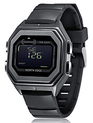 cheap -NORTH EDGE Men's Digital Watch Digital Digital Casual LED Light Compass LCD / One Year