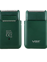 cheap -VGR Electric Shaver Usb Rechargeable Reciprocating Shaver Men's Shaver Beard Trimmer Floating Shaving