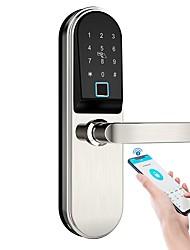 cheap -AC-2028ZM Aluminium alloy Fingerprint Lock / Remote Lock / Intelligent Lock Smart Home Security iOS / Android System Fingerprint unlocking / Password unlocking / Mechanical key unlocking Home