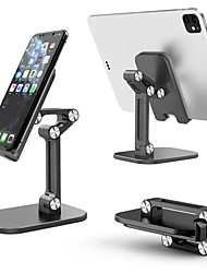 cheap -Phone Holder Stand Mount Desk Foldable Adjustable Stand Phone Holder Adjustable PVC Phone Accessory iPhone 12 11 Pro Xs Xs Max Xr X 8 Samsung Glaxy S21 S20 Note20