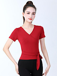 cheap -Activewear Top Cinch Cord Solid Women's Training Performance Short Sleeve High Modal