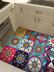 cheap -Thickened Moroccan Tile Self-adhesive Paper Kitchen Oil-proof And Waterproof Removable Dyi Wall Sticker
