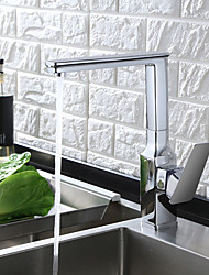 cheap -Chrome/ORB/Black Kitchen Sink faucet Single Level Single Handle Solid Brass Kitchen Faucet