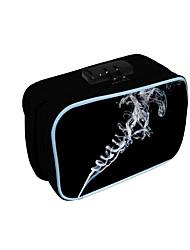 cheap -Unisex Bags Oxford Cloth Tobacco Pouch Zipper Daily 3D Print Black
