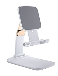 cheap -Phone Holder Stand Mount Desk Foldable Adjustable Stand Phone Holder Adjustable Aluminum Alloy Phone Accessory iPhone 12 11 Pro Xs Xs Max Xr X 8 Samsung Glaxy S21 S20 Note20