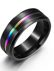 cheap -Ring Classic Black Alloy Fashion Classic 1pc 7 8 9 10 11 / Women's / Men's