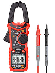 cheap -Habotest HT206B Digital Clamp Meter True Rms Capacitance Hz Ohm Frequency Temp Pinza Amperimetrica Multimeter Clamp Tester