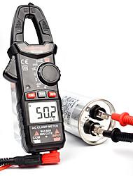 cheap -HT200B Digital Multimeter Tester Current Clamp Multimeter Auto Range Amp Meter Car Repair Ohm Capacitance AC DC Voltage Tester