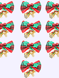 cheap -1 Set Christmas Decorations Christmas Bows Hanging Bells Christmas Gifts Decoration Christmas Tree Garlands Decoration Accessories