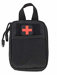 cheap -tactical medical bag molle first aid bag medical emergency bag multifunctional waist bag for outdoor travel camping hiking (black)