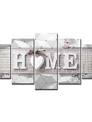 cheap -5 Panels Wall Art Canvas Poster Painting Artwork Picture  Holiday Home Decoration Decor Rolled Canvas No Frame Unframed Unstretched